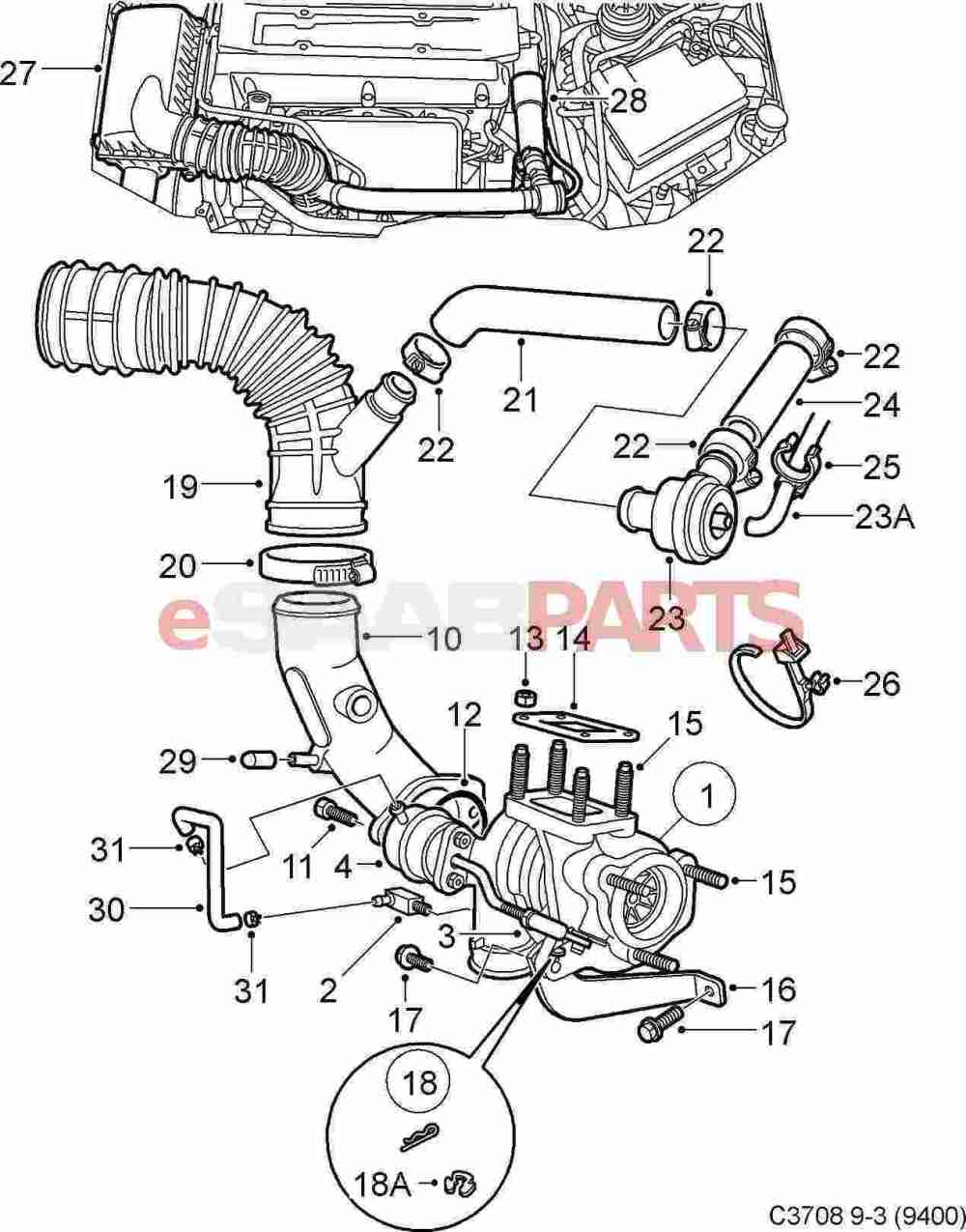 medium resolution of saab 93 engine diagram 8 18 artatec automobile de u2022saab 9 3 2003 turbo diagram