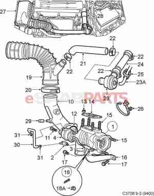 [4441895] SAAB Charge Air Bypass Valve  Genuine Saab Parts from eSaabParts