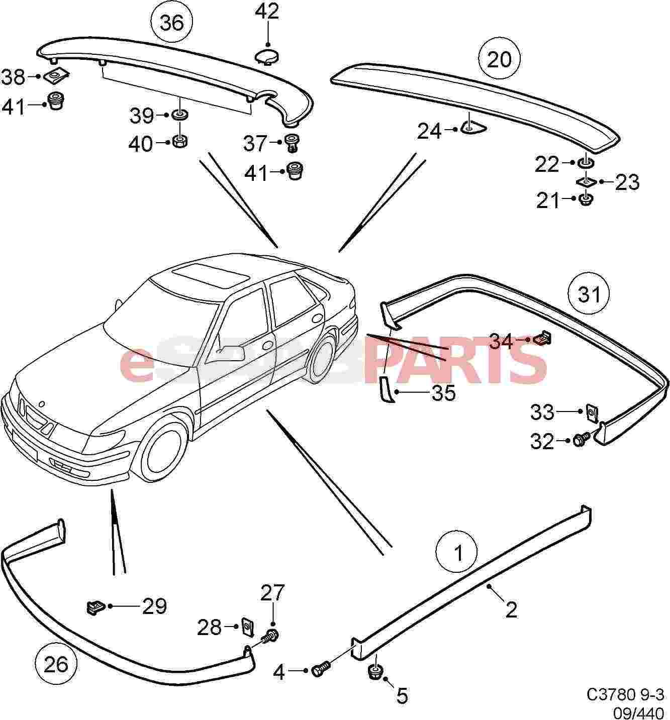 2002 Saab 9 3 Stereo Wiring Diagram Saab 9-3 Dash Lights