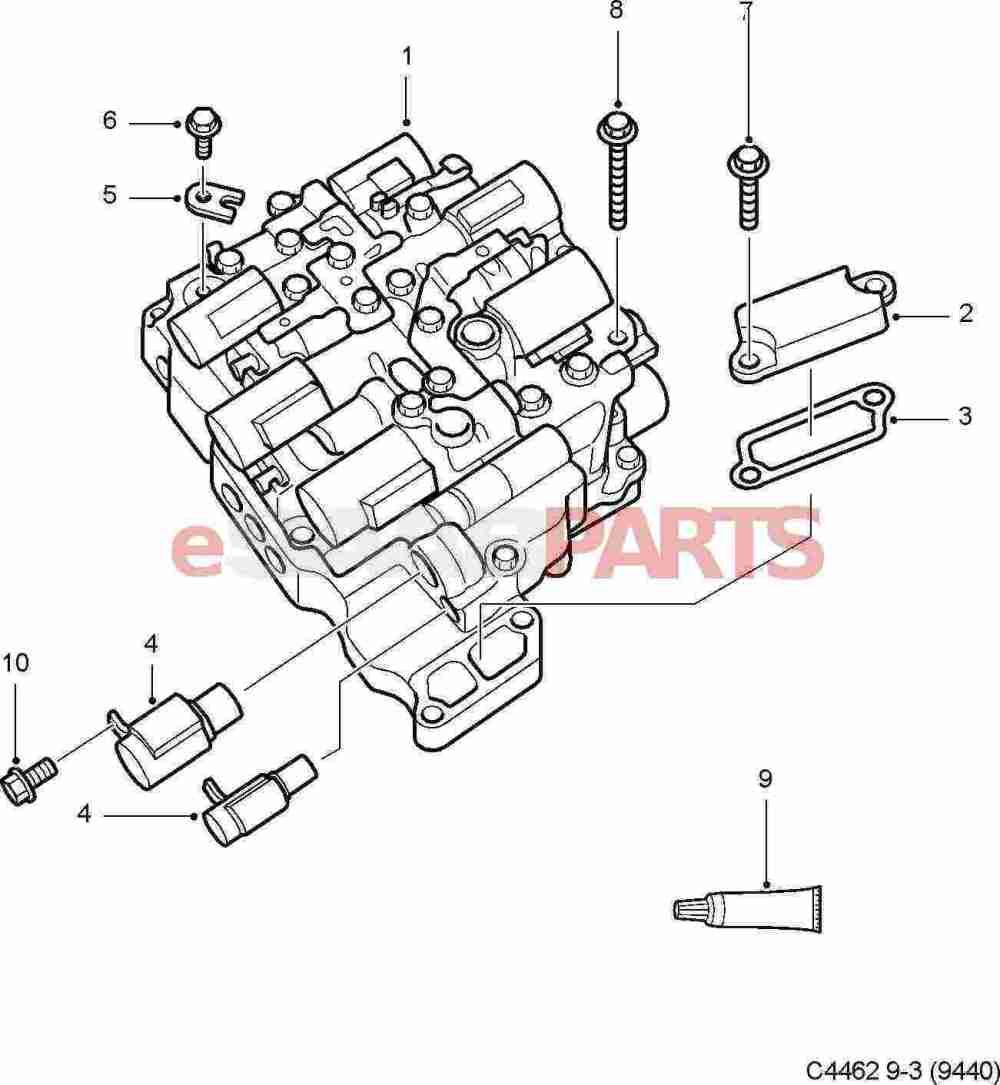medium resolution of esaabparts com saab 9 3 9440 u003e transmission parts u003e transmission saab 9 3 automatic diagram