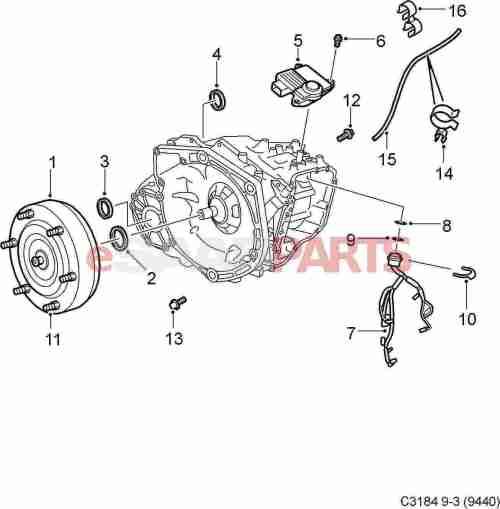 small resolution of 92152223 saab clamp genuine saab parts from esaabparts com saab 9 3 automatic diagram
