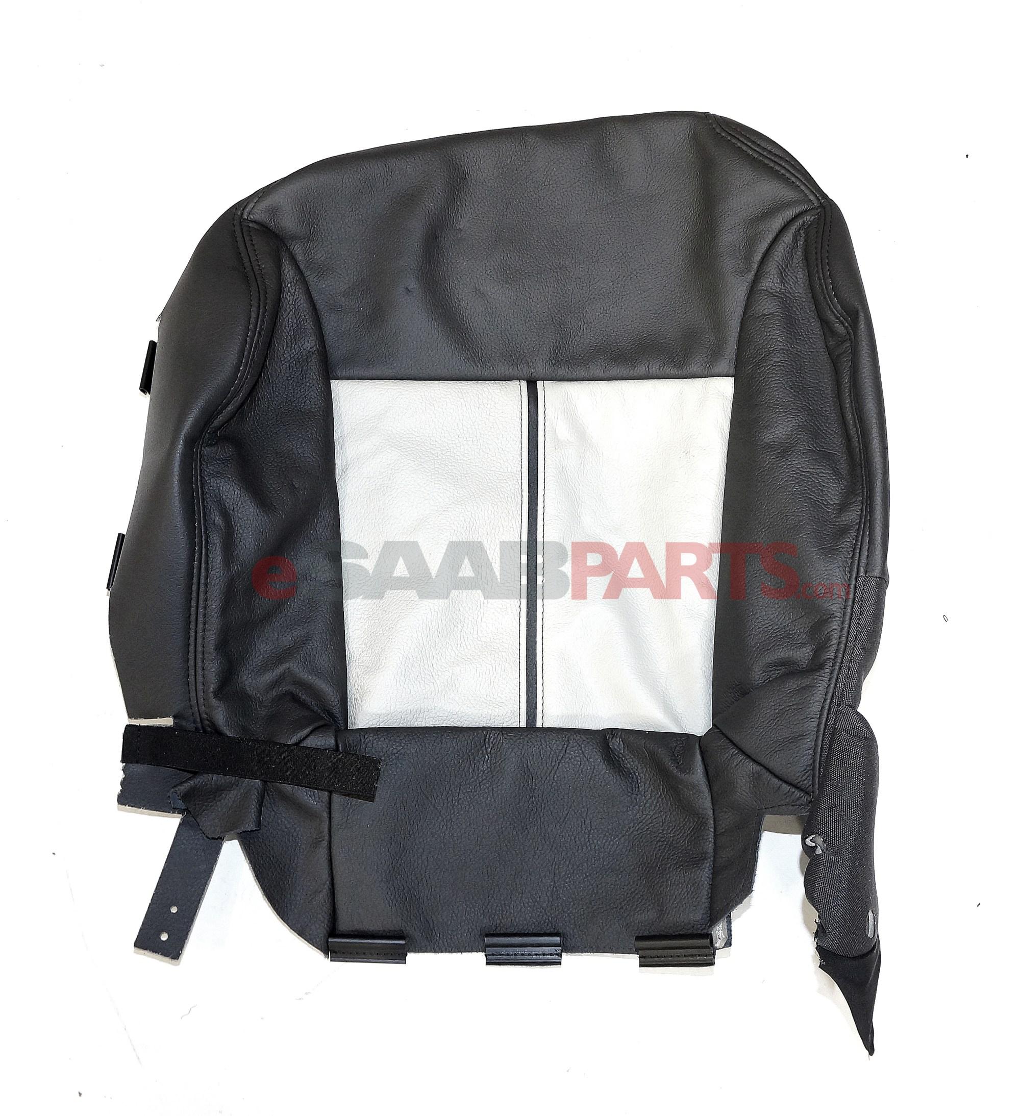 hight resolution of new saab 9 3 seat cover lh bottom black beige b06 aero convertible oem 12770891 ebay
