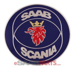 [4522884] SAAB Saab Scania Hood Emblem  Genuine Saab Parts from eSaabParts