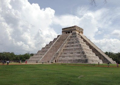 The Serpent Temple ~ Chichen-Itza, Mexico ~ March 2008</br> These pyramids were used by the Mayan natives for spiritual ascension; like the pyramids of Egypt and many other ancient stone structures all over the planet. Every year on the equinoxes of the spring and fall, the corner of the pyramid casts a perfect shadow that when combined with the stone structure makes the shape of a serpent. I used to make it a point of being here on these days until it became overrun with crowds.