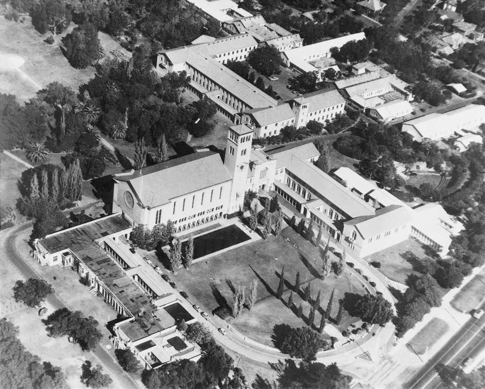 UWA aerial view