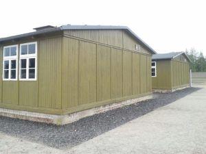 Barraca 38. Antiguo campo de Concentración de Sachsenhausen