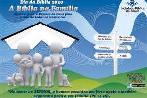 Dia da Bíblia: SBB lança site especial