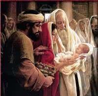 O que ele viu de tão espetacular nos braços de Maria?