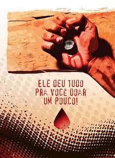 Jesus, doação de sangue, doador, amor, atitude