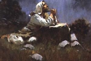 Pelo que Jesus orava em seus momentos a sós com Deus?