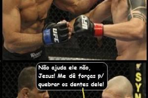 Tirinha: Enquanto isso no MMA gospel…