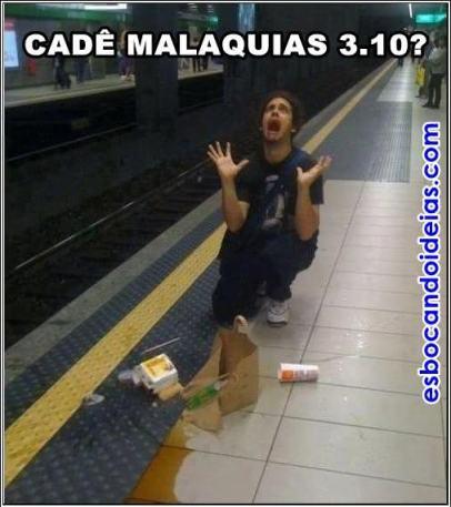 Tirinha meme de humor cristão: Cadê Malaquias?