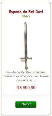 Espada do rei Davi