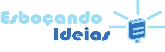 Novo Logo Blog Esboçando Ideias