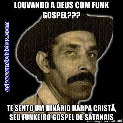 Louvando a Deus com funk gospel