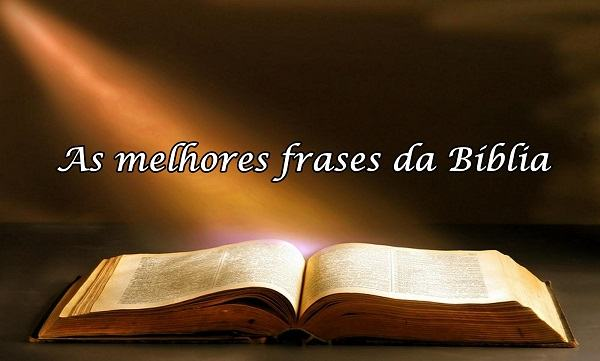 As melhores frases da Bíblia [1]