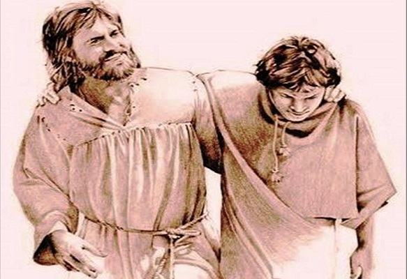 O Rei Davi e Jônata -