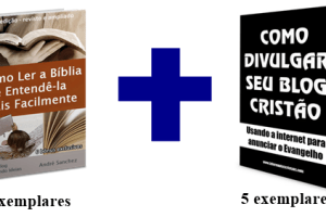 """Sorteio de 5 exemplares do e-book """"Como Divulgar Seu Blog Cristão"""" e do e-book """"Como ler a Bíblia e Entendê-la Mais Facilmente"""""""