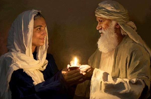 A esposa de Abraão, Sara, teve relações sexuais com faraó