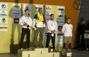 Manuel Escobar cierra Mundial de Velocidad con medalla de Oro