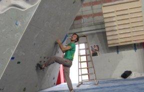 Competencia de boulder 15° Pump Fest en Italia