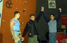 Oro para Venezuela en el IFSC Climbing Worldcup Puurs 2008