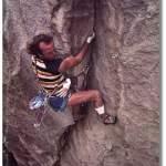 Todd Skinner en la portada de la revista Climbing numero 92