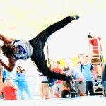 Daniel Woods en la Copa del Mundo de Bloque IFSC 2010 - Foto Udo Neumann