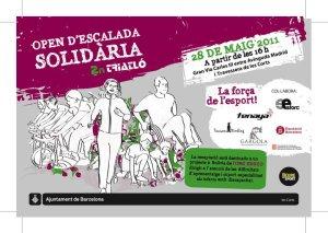 """1er Open de Escalada Solidaria """"2do Triatlón"""""""