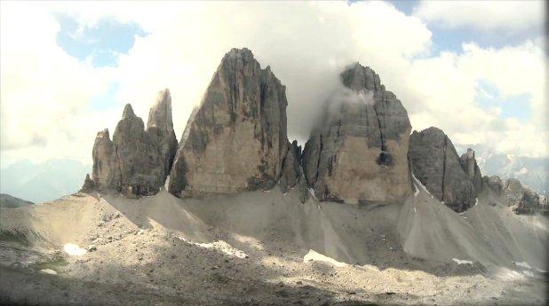 Tre Cime di Lavaredo en los Dolomitas