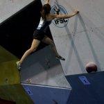 Akiyo Noguchi Copa del Mundo de Escalada en Boulder IFSC 2011 Barcelona - Foto Villan Alayón