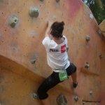 Gabriela Folgar Abierto Nacional de boulder Ascenso AlFlash - Foto Diosa Daniela