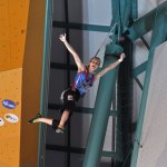 Maria Krasavina Campeona del Mundo de Escalada en Velocidad IFSC 2011 - Foto Giulio Malfer