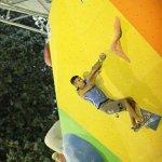 Rustam Gelmanov Campeonato del Mundo de Escalada en Boulder IFSC 2011 Arco - Foto Anna Piunova