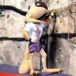Avi la mascota del Campeonato del Mundo de Escalada IFSC 2007 en Avilés