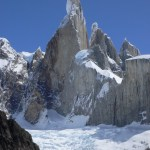 The Compressor Route en Cerro Torre Patagonia - Foto Kelly Cordes