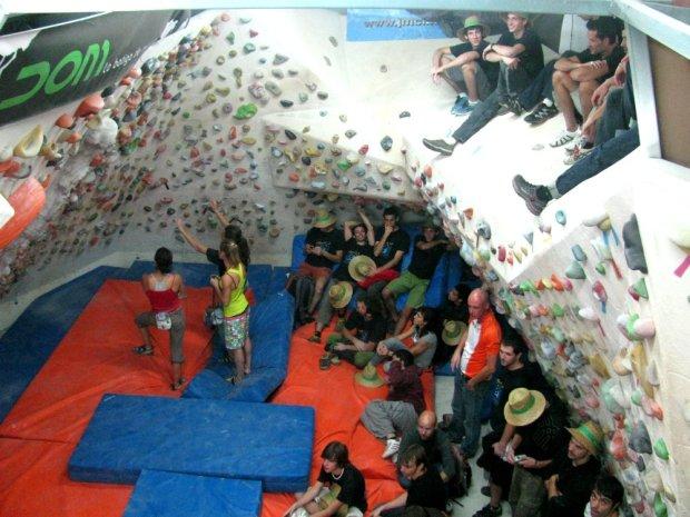 Abierto de Boulder Copa Catalana Plafon de Piri – Foto David Perez