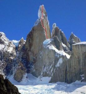 Cerro Torre y la Via del Compresor - Foto Colin Haley