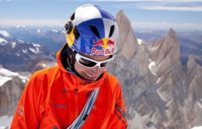 David Lama atleta Red Bull en Cerro Torre en The Compressor route - Foto Corey Rich