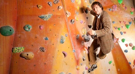 Johnny Dawes, demostrando estilo en el Castle. Foto The Guardian UK