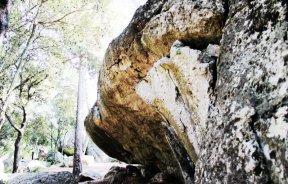 boulder en La Riba - boulder en el Clot d'en Goda