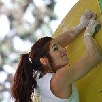 Alex Puccio ganadora de boulder Rock Máster de Arco 2012