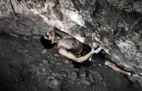 Video de escalada deportiva Lluís Saló en Aromes de Calders 7c+