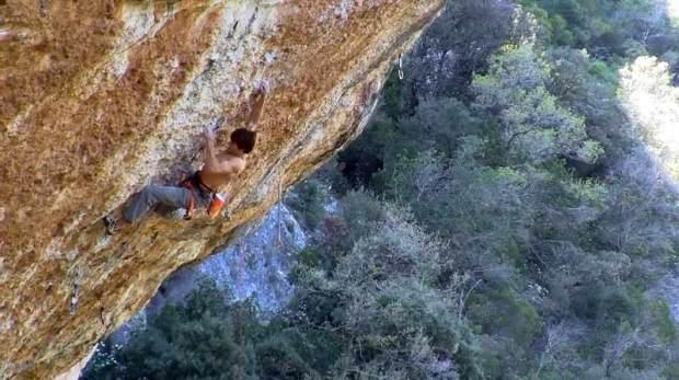 Video escalada deportiva Ethan Pringle en Era Vella 9a
