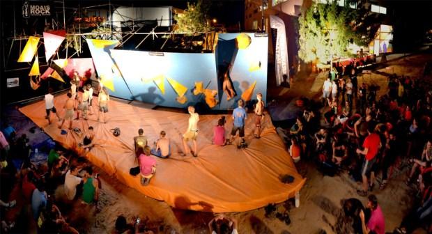 Video escalada boulder; Golem Bloc Festival 2013