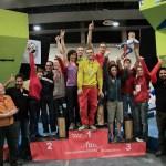 Podium Nacho Sanchez - Madrid Skala N'Bloke III y 3ra Prueba de la Copa España de Boulder 2013