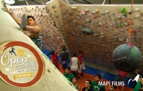 Video escalada boulder Open Bloc Piri 2013 Vilassar de Mar