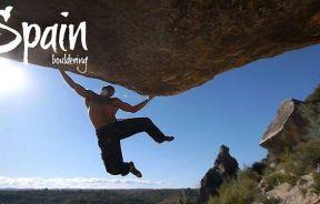 Video escalada boulder el Cogul con Jason Kehl y Jordi Salas