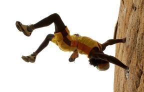Jyoti Raj escalador el Rey Mono de la India