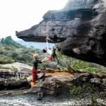 Jimena Alarcon y Chris Sharma escalada boulder tepuy Auyantepuy Venezuela